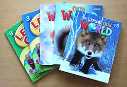 Kids English textbooks